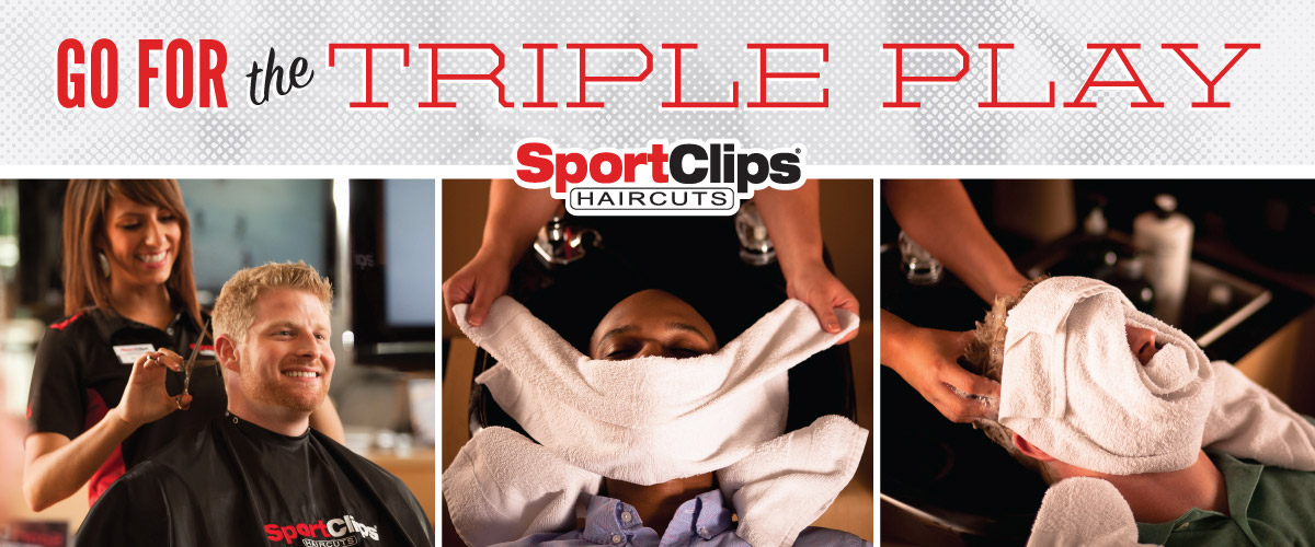 The Sport Clips Haircuts of Simpsonville - Fairview Corners  Triple Play